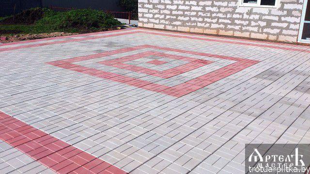 Площадка с узором